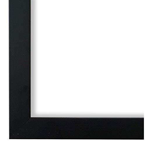 Online Galerie Bingold Bilderrahmen Schwarz 40 x 60 cm 40x60 - Modern, Vintage, Retro - Alle Größen - handgefertigt - WRF - Neapel 2,0