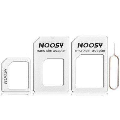Dmtrab para 4 en 1 (NANO SIM TO MICRO SIM Tarjeta + Micro SIM a la tarjeta estándar + Nano SIM a la tarjeta estándar + Tarjeta SIM Tarjeta de bandeja de la bandeja de la bandeja de la bandeja de la he