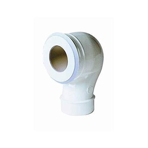 Nicoll - Coude WC 90° Mâle D.80 excentrée - NISPCEX80M