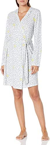 PJ Salvage Women s Smiley Robe Ivory XL product image