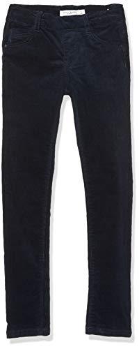 NAME IT Mädchen NMFPOLLY CORDBATIPPI Legging BP Hose, Blau (Dark Sapphire Dark Sapphire), (Herstellergröße:116)