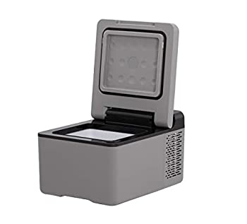 Alpicool C9 Mini Portable Refrigerator 10 Quart 9 Liter  12 Volt Fridge Freezer for Car Vehicle Truck RV Boat Mini Fridge Freezer for Driving Travel Fishing Outdoor -12/24V DC