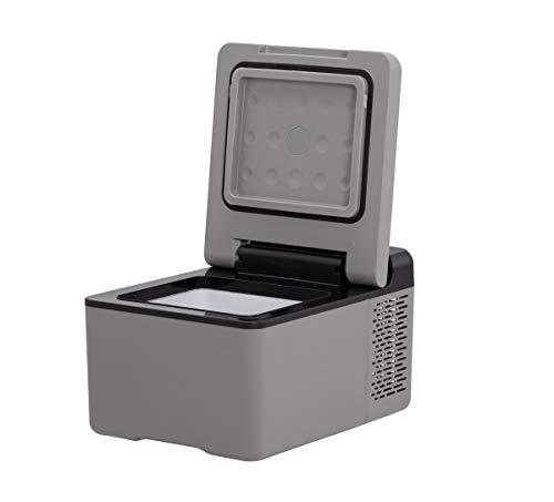 Alpicool C9 Mini Portable Refrigerator 10 Quart(9 Liter) 12 Volt Fridge Freezer for Car, Vehicle, Truck, RV, Boat, Mini Fridge Freezer for Driving, Travel, Fishing, Outdoor -12/24V DC