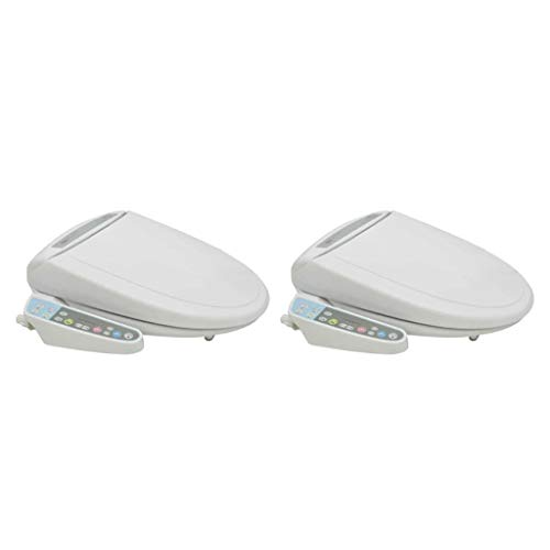 vidaXL 2x Toiletbril Elektronisch met Bidet WC-Bril Toilet Bril Zitting Bidets