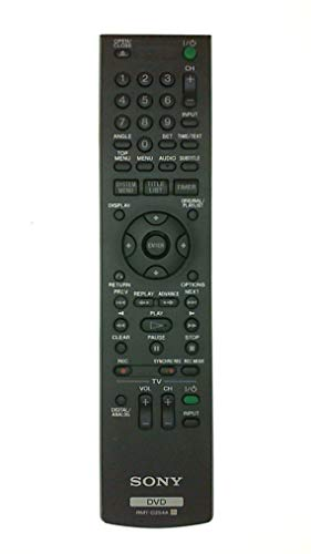 Best Buy! Sony Rmt-d254a Remote Rdr-gx360 DVD Recorder Player Rdr-gx360-fb-r Tested
