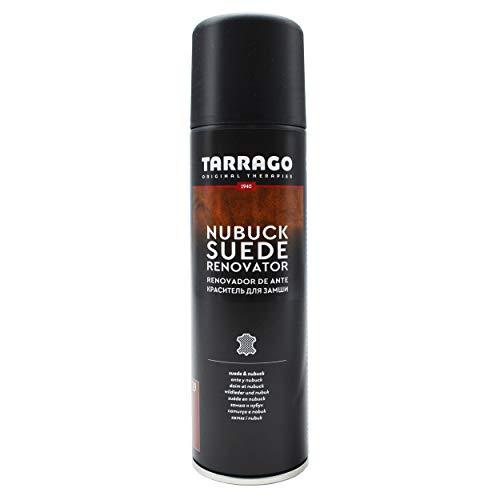 Tarrago | Nubuck Suede Renovator 250 ml | Spray Impermeabilizante | Renovador para Zapatos, Bolsos, Textil, Ante y Nubuck | Waterproof - Agua y Lluvia | Azul Marino (17)