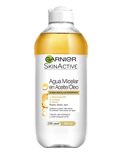 Garnier Skin Active Agua Micelar Aceite Pieles Normales
