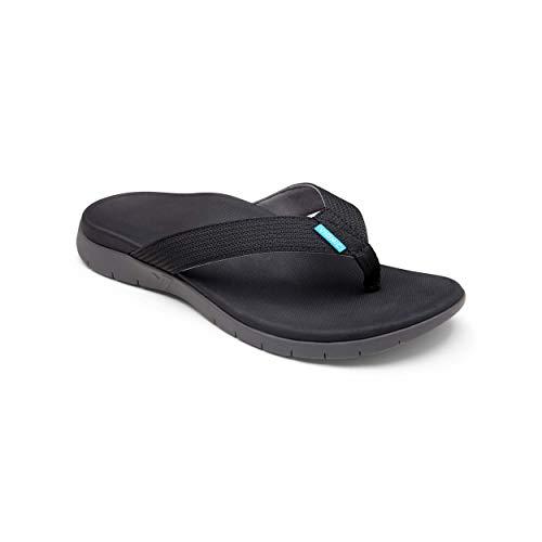 Vionic VIONIC Mens 544 Mislander Black Nylon Sandals 42 EU