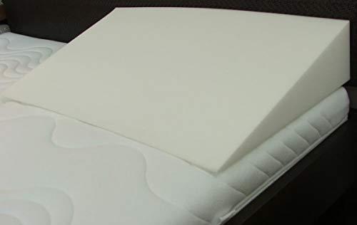 Matratzenkeil aus Schaumstoff Rg 35 90cm 50cm 10/1cm ohne Bezug