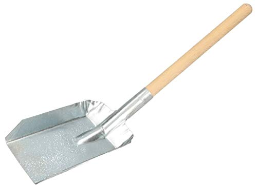 KOTARBAU Kohlenschaufel 480 x 110 mm Verzinkt Kohlenlöffel Kaminschaufel Ascheschaufel Kohlenschütte Ofenschaufel Futterschaufeln Verzinkt Schaufel