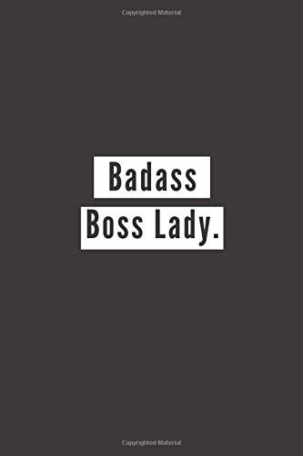 Badass Boss Lady: Lined Page