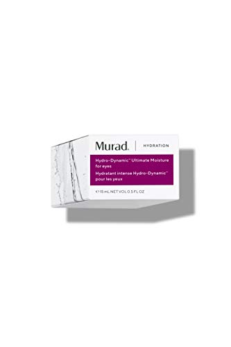 31MjieGQMmL - Murad Hydration Hydro-Dynamic Ultimate Moisture for Eyes - Eye Lift Firming Treatment with Advanced Peptides and Hyaluronic Acid - Hydrating Anti-Aging Eye Moisture Treatment, 0.5 Fl Oz