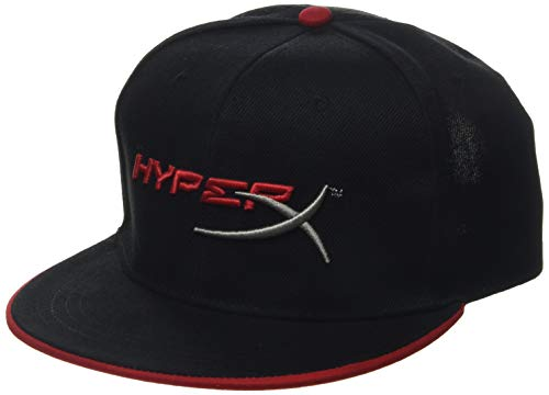 HyperX Snapback - HyperX Logo Flat Peak Hat -Official HyperX Merchandiseand a Perfect Addition to The Cloud 2 Gaming Headset