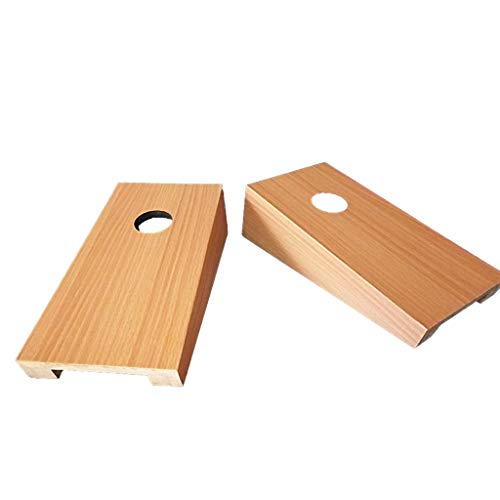 Cornhole Sets Solid Wood Premium Cornhole Set - Choose Between 25137CM Game Boards | Includes Set of 4 Corn Hole Toss Bags