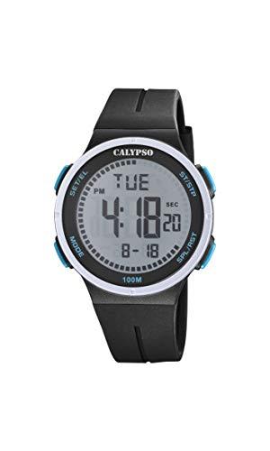 Calypso Reloj Digital para Unisex Adulto de Cuarzo con Correa en Plstico K5803/4