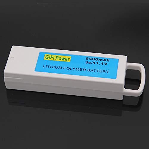 SHUGJAN 1PCS 11.1V 6400mAh for Yuneec Q500 Q500 3S Upgarded de litio de la batería batería recargable RC for Yuneec Q500 Q500 RC Quadcopter Piezas de montaje RC