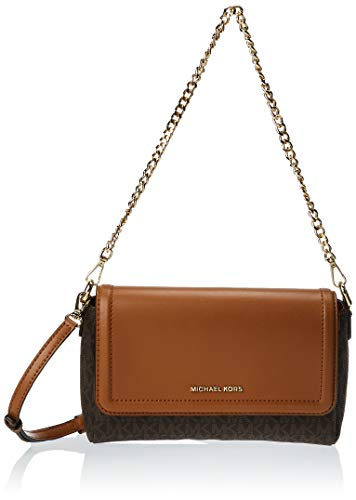 """Small sized bag 8-3/4""""W x 6-1/4""""H x 3""""D (width is measured across the bottom of handbag); 1.30 lbs. approx. weight 22-1/4""""L adjustable strap Magnetic closure 18K gold-tone exterior hardware & 1 back slip pocket 1 interior zip pocket, 6 front credit c..."""