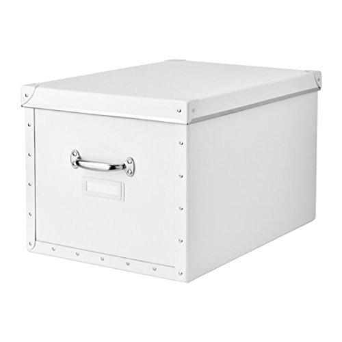 Ikea Fjalla Aufbewahrungsbox mit Deckel weiß 803.956.77 Größe 13 3X22x11 3X4