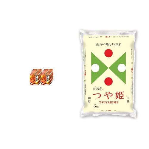 味の素 Cook Do 干焼蝦仁用 110g ×10個 +  【精米】山形県産 白米 つや姫 5kg 令和元年産