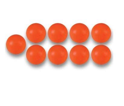 Balles Baby Foot Plastique Orange (par 10)