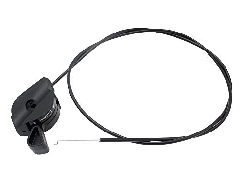 SECURA Bowdenzug Seilzug kompatibel mit Alko Rasenmäher Gashebel universal 1260mm 451849
