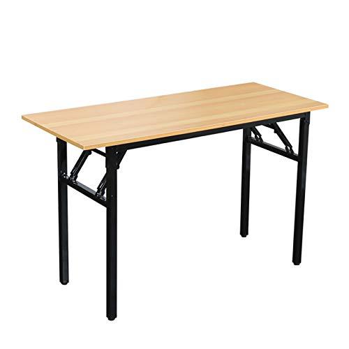 CYYAN Schreibtisch Klapptisch 80x40cm Computertisch Büromöbel PC Tisch, Stabil Bürotisch Konferenztisch Klappbar für Zuhause, Büro, Picknick,...