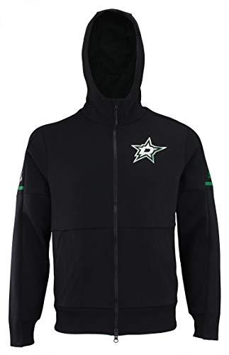 adidas NHL Center ICE Finished ZNE Jacket Stars BLK ZNE J/NHL Stars Size M