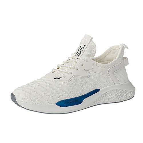 Sanahy Laufschuhe, Herren Kissen Atmungsaktiv Komfort Komfort Athletic Sneakers Sneakers