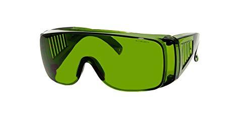 Rainbow safety Gafas Protección para Depilación IPl y HPL Accesorios Luz Pulsada Intensa 190-1800nm Filtro F4 (RS-IPL2)