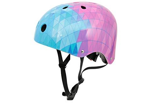 Casco bici bambina caschetto regolabile protezione pattini Soy Luna 54-56cm