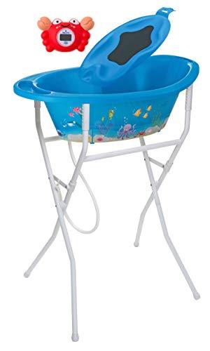 Rotho Babydesign 21054012501 Solution de Bain Style! Océan Bleu
