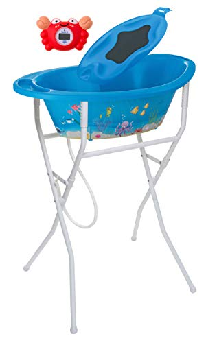Rotho Babydesign 21054012501 Solution de Bain Style! Océan Bleu