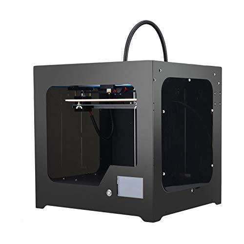 Extrudeuse Mise à Jour pour imprimante 3D adaptée à la Structure entièrement métallique à Filament Flexible avec kit de Bricolage breveté Ultrabase Heatbed,Black