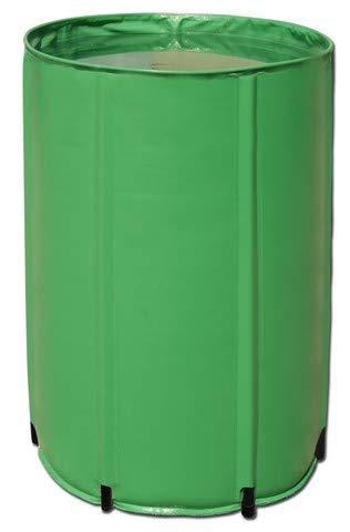 Aquaking Faltbares Wasserfass 250L PVC, Flex Tank, Nährstofftank, Regentonne, Regenfass, Wassertonne