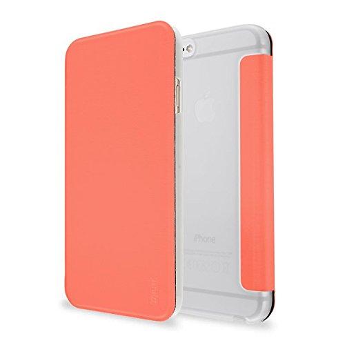 Artwizz 8850-1652 Smartjacket Etui für Apple iPhone 6/6s - Schutz-Hülle im Metall-Look mit Frontcover, Rückseitenschutz und geschmeidigen Grip - Designed in Berlin - Apricot