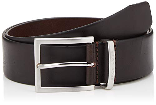 BOSS Buddy Ceinture, Marron (Dark Brown 202), 100 (Taille Fabricant: 85) Homme