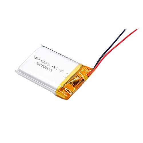 1pcs 602535 600mah 3.7v Batería Recargable De Iones De Litio De PolíMero, Adecuada para Mp3 Mp4 Dvr para AutomóVil Grabadora De Conducción Auriculares Batería De Iones De Litio