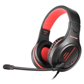 Cosmic Byte Blazar Headphone with Flexible Mic for PC, Mobiles, PS5, PS4, Xbox One, Tablets (Red)