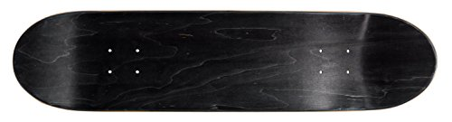 Ridge Skateboards Concave Deck- Black Design Skateboard Deck