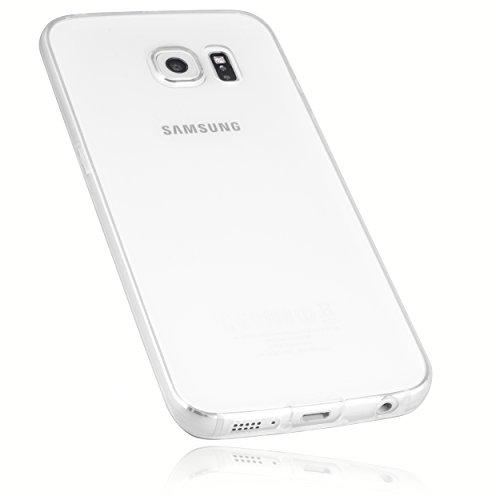 mumbi Hülle kompatibel mit Samsung Galaxy S6 Edge Handy Case Handyhülle dünn, transparent