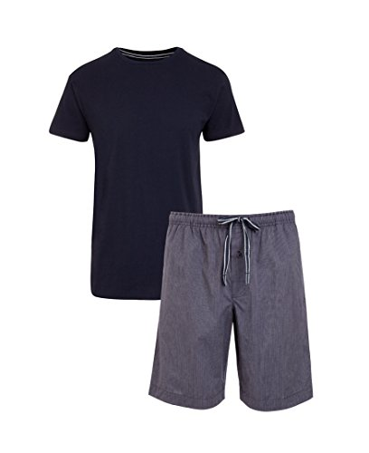 Jockey® Short Pyjama Mix, Blau, Größe M