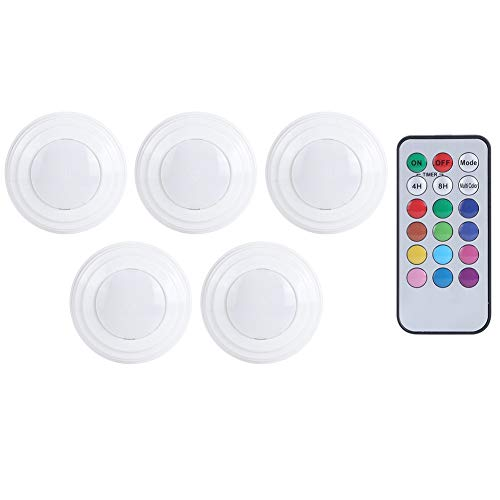 Deryang Keine Notwendigkeit Locher 2.7X2.7X1.2In Unter Schrank Licht, Fernbedienung Licht, Schrank Schrank für die Küche
