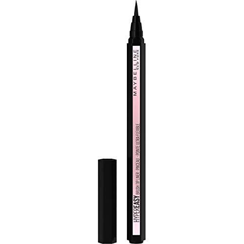 Maybelline New York Eyeliner in penna Hyper Easy, Tratto Continuo, Facile da Applicare, Punta Iper Flessibile, Nero (800)
