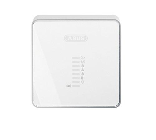 ABUS FUMO50030 componente de - Vigilancia (Inalámbrico, 200 g, 124 x 40,7 x 124 mm, -10 - 55 °C, 9-14 VDC, Color blanco)