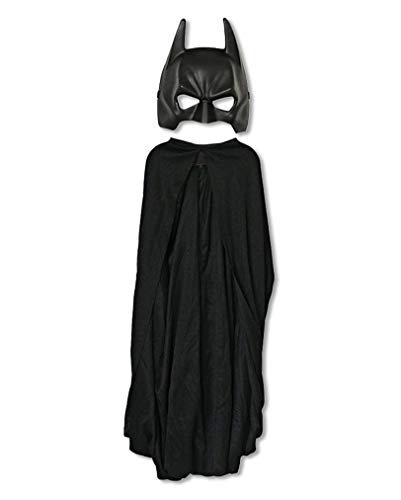 Lizenzierte Batman Maske mit Cape