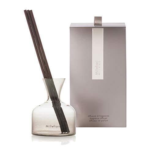 Millefiori Diffusor mit Stab Air Design Vase aus Glas, Taupe