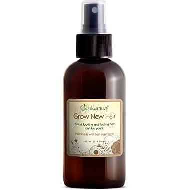 Grow New Hair Treatment | Hair Regrowth Oil | Natural Hair Care | Hair Growth Treatment For Men and Women | Just…