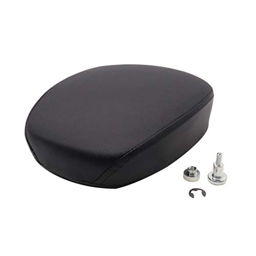 GOOFIT Passenger Rear Seat Cushion Compatible with Harley Sportster XL1200 883 72 48 2010-2015