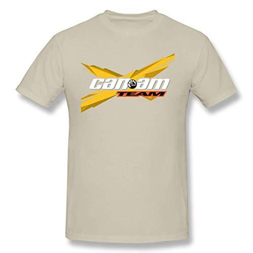 maichengxuan Man Logo von Brp Can Am Cotton Tees T-Shirt Tops