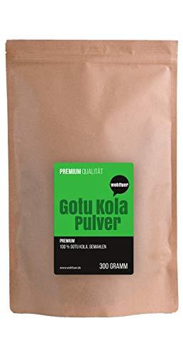 Wohltuer Gotu Kola Pulver 300g | Indischer Wassernabel fein gemahlen | Tigergras (Centella asiatica) | Für Smoothie & zum Würzen | Ayurveda